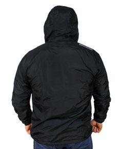Kurtka 'No.3' z siatką zakrywającą twarz - tył ---> Streetwear shop: odzież uliczna, kibicowska i patriotyczna / Przepnij Pina!