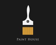This logo is so cute! The brush part is made out of fences and the grip part represent the house by the window.