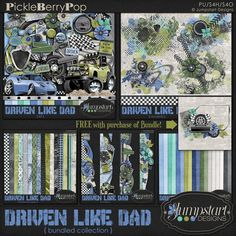 Driven Like Dad ~ Bundled Collection By Jumpstart Designs
