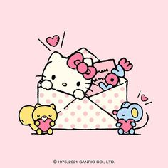 Hello Kitty Backgrounds, Hello Kitty Wallpaper, Hello Kitty Pictures, Kitty Images, Binder Cover Templates, Hello Kitty Imagenes, Hello Cute, Sanrio Wallpaper, Hello Kitty Birthday