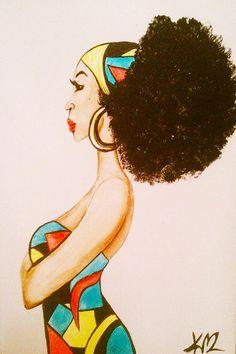 ☆ Afro Puffs :¦: Artist Kyiia MacDonald ☆