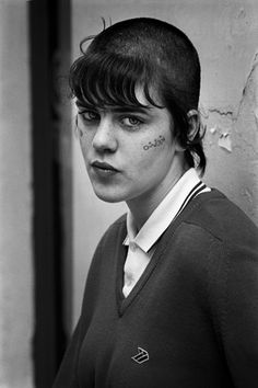 Babs . Soho1987 . Derek Ridgers, real name Diane. She was one of my best friends when I moved to London.