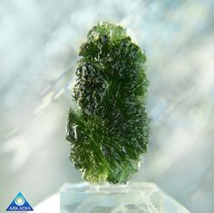 Stunning Natural Czech Moldavite Specimen by ArkadianCollection