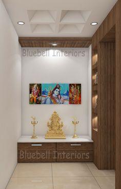 Kitchen Furniture, Furniture Design, Pooja Room Design, Pooja Rooms, Room Doors, Quartz Countertops, Ceiling Design, Interior, Home Decor
