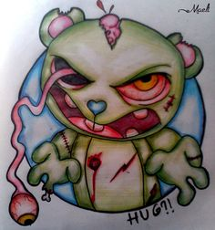 Hug?! (Happy tree friends) by MaeliDraw on DeviantArt