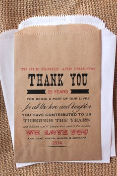 Anniversary Favor Bags Candy Buffet By Rootedmanor On Etsy 13 75 30th Wedding