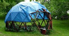 Treehouse Design - Geodesic Dome and Treehouse - Busyboo