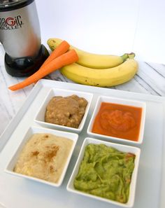 magic bullet is awesome to make baby food! Healthy Dessert Recipes, Baby Food Recipes, Yummy Recipes, Recipies, Yummy Food, Magic Bullet Recipes, Magic Recipe, Nutribullet Recipes, Blender Recipes