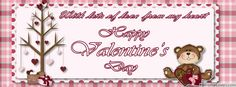 Happy Valentines Day - Facebook Timeline Cover