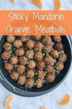 You Have Meals Poisoning More Normally Than You're Thinking That Sticky Mandarin Orange Meatballs Via Ericaeckman Meatball Recipes, Beef Recipes, Healthy Recipes, Fast Recipes, Mandarine Recipes, Lunch Recipes, Dinner Recipes, Dinner On A Budget, Dinner Ideas