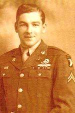Cpl Forrest Guth - (Courtesy: Gordon Stewart: WW II Airborne Demonstration Team)