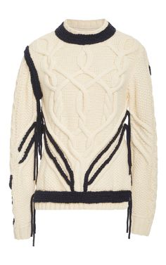 Sonnier Cableknit Sweater by ORLEY Now Available on Moda Operandi