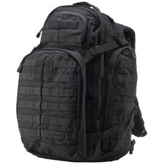 The RUSH 72 is engineered to be a full featured 72 hour bag that provides ample space for gear and accessories while remaining rugged and reliable enough for extended excursions or tactical deployments. Highly resilient, water repellent 1000D nylon construction keeps your gear safe and dry in any environment, while a generous MOLLE/Backup Belt System compatible web platform keeps all your gear within easy reach. When it comes to storage, the RUSH 72 hour backpack delivers; dual zippered…