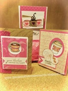 The Damsel of Distressed Cards: Holiday Coffee Lovers Blog Hop