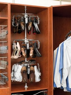 Buy the Rev-A-Shelf Chrome Direct. Shop for the Rev-A-Shelf Chrome 3 Shelf Women's Lazy Shoe-Zen Organizer with Closet Shaft and save.