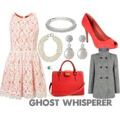 My creation inspired by Ghost Whisperer character Melinda Gordon.