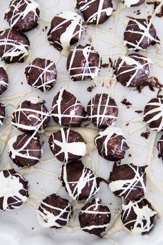 ... white chocolate & coconut truffles ...