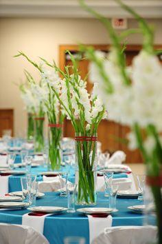 gladiolus centerpiece - Google Search
