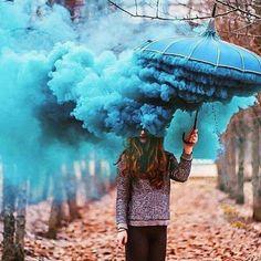 #Blue #Amberella via. Designwars.com