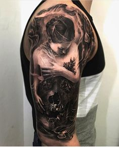 Armor tattoo nordic