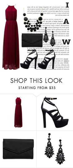 """""""😊"""" by jasmine077 ❤ liked on Polyvore featuring GUESS and LULUS"""