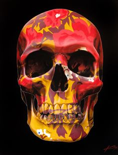 Dead Famous Skull Paintings by George Ioannou