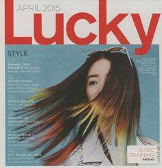 April 2015 Lucky Magazine, Writer, Romance, Silhouette, Cute, Inspiration, Style, Romance Film, Biblical Inspiration