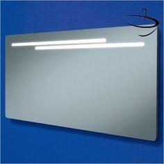 HIB Mirrors & Cabinets - Maxi Rectangular Mirror 60 x 120 x 5.5cm