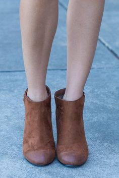"""Theory Of Fab Booties, Rust"" We have a theory about these booties. No matter what you pair them with, they will be fab and make your whole outfit fab! It's so much a theory as it is a fact! #Newarrivals #shopthemint"