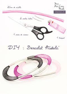 Tutoriel Bracelet résille by Monptitcoinmode