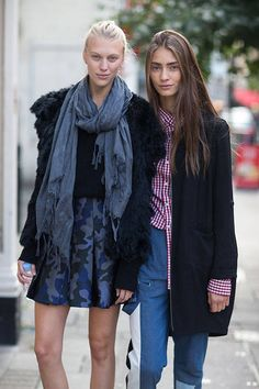 Not sure what to wear for that tricky in-between season weather? Take some inspiration from these street style looks.
