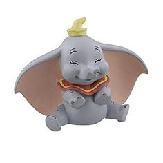 Disney Magical Moments Figurine - Dumbo - You Make Me Smile - 8cm - DI191