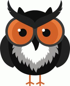 Silhouette Design Store - View Design #67392: halloween scary owl