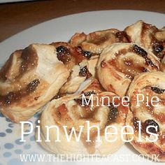 We have got your Christmas baking sorted with this simple recipe for mince pie goodness that won't leave you sweating over the pastry - Mince Pie Pinwheels!