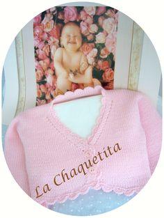 Chaquetas tejidas a mano en talla y color a elegir lachaquetitadepunto.blogspot.com