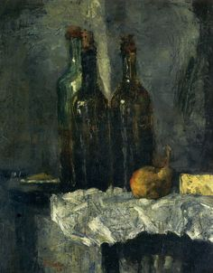 James Ensor - Bottles (1880)