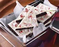 Peppermint Bark Brownies!