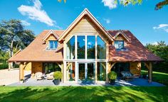 Rupert and Lindsay Osborne have finally realised their dream of building a stunning timber-framed home in Suffolk, after a lengthy planning battle taking seven years