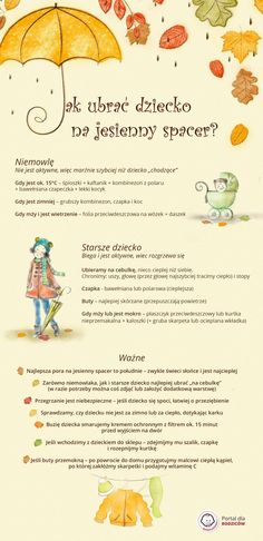 Jak ubrać dziecko na jesienny spacer?