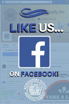 Facebook -- > https://www.facebook.com/renovatorssupply