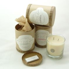 Linnea's Lights candle packaging