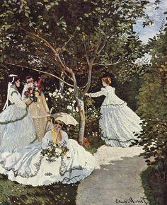 """Клод Моне. """"Женщины в саду"""""""