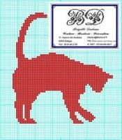 Diy Crochet Cat, Knitted Cat, Crochet Cross, Filet Crochet, Cross Stitch Freebies, Cross Stitch Charts, Cross Stitch Patterns, Knitting Patterns, Tapestry Crochet