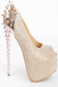 Love this spike heel.  For purchase contact cocostarfashions@gmail.com