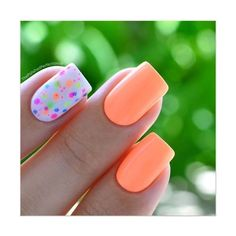 Favourite nail art with neon pink nails and neon polka dots on the ring finger with the background of white nail polish Fancy Nails, Love Nails, How To Do Nails, My Nails, Neon Nails, Bright Nails, Color Nails, Glitter Nails, Bright Summer Gel Nails