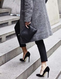 Classic Black + Grey :: House of Valentina