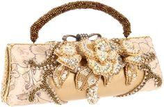 Mary Frances Champagne Kisses Shoulder Bag