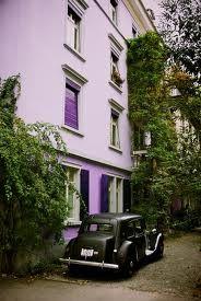 Purple house, Zurich