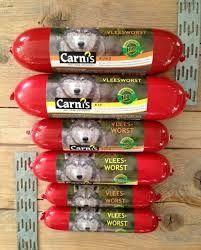 Carnis worst rund 200 gram | Hondenworsten | gezondhondenvoer
