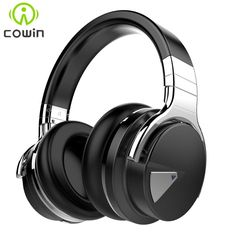 Anniversary Cowin E-7 Active Noise Cancelling Bluetooth Headphones Wireless Stereo Headset Headphones with Microphone/for phone